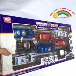 Mô hình 8 xe cảnh sát KTB307
