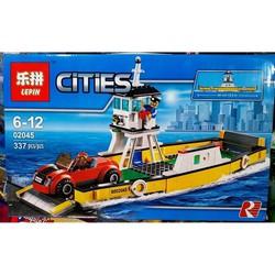 Lego mô hình Phà trung chuyển ô tô
