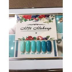 Sơn móng tay - Nails - Set sơn màu Xanh Ngọc AS [HOT]