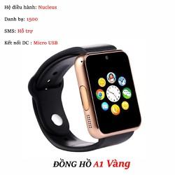Đồng hồ thông minh hỗ trợ gắn sim Smartwatch A1