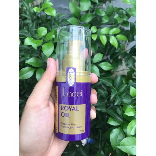 Tinh dầu dưỡng bóng tóc Lacei RoyalOil 70ml - 5013724 , 9534179 , 15_9534179 , 245700 , Tinh-dau-duong-bong-toc-Lacei-RoyalOil-70ml-15_9534179 , sendo.vn , Tinh dầu dưỡng bóng tóc Lacei RoyalOil 70ml