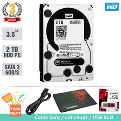 Ổ cứng gắn trong PC HDD Western Digital Caviar Black 2TB SATA 6Gb
