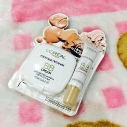 Bộ makeup 1 phấn phủ BB và 1 kem lót BB cao cấp