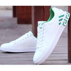 Giày thể thao nam trắng da cao cấp siêu mềm siêu nhẹ màu đen ,trắng