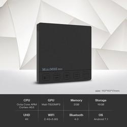 Android TV Box Mini M8s Pro-c 2g 16g chip S912 8 nhân