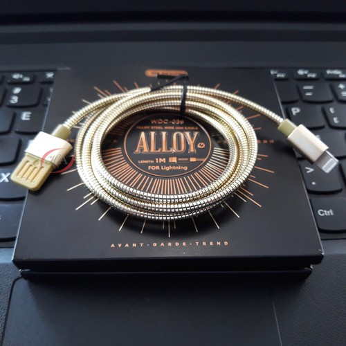 Combo 10 Dây sạc lightning WK HAWDC-039 Alloy