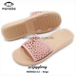 Dép xốp Thái Lan nữ MONOBO – MONIGA 4.2 – BEGIE QUAI HỒNG