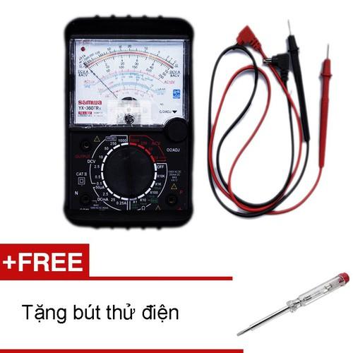 Đồng hồ đo kim Samwa VOM 360 TRE loại tốt  Tặng bút thử điện kèm pin
