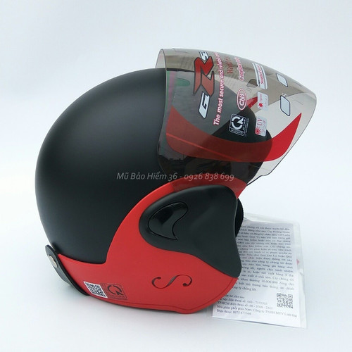 Mũ bảo hiểm GRS A318k đen nhám đai đỏ - 4437221 , 9539801 , 15_9539801 , 530000 , Mu-bao-hiem-GRS-A318k-den-nham-dai-do-15_9539801 , sendo.vn , Mũ bảo hiểm GRS A318k đen nhám đai đỏ