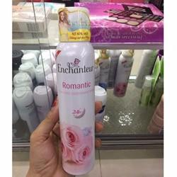 Xịt khử mùi Enchanteur Romantic chai 150ml