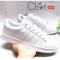 Giày Sneaker Nam Thời Trang Mũi Sò Phong Cách