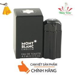 Nước hoa nam Mont Blanc Emblem Eau De Toilette 4.5ml
