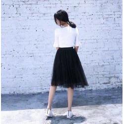 chân váy xoè cực đẹp
