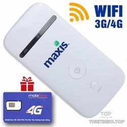 Bộ phát wifi Từ sim 3G, 4G chính hãng ZTE MF65 + Tặng Sim 4G
