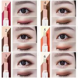 Phấn màu mắt nhũ 2 line dạng bút NoVo