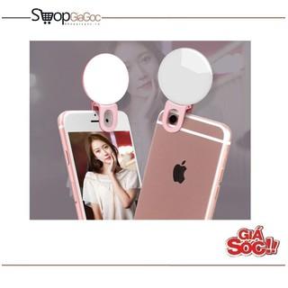 Đèn Led tròn kẹp điện thoại hỗ trợ chụp selfie cực đẹp - Đèn Led tròn thumbnail