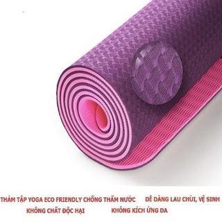 Thảm Yoga cao cấp Eco Friendly + tặng túi - thamecofriendly thumbnail