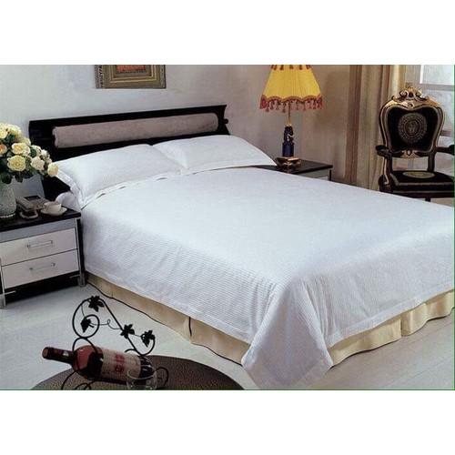 Bộ drap khách sạn trắng trơn 1.2m