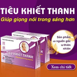 Tiêu Khiết Thanh - Giảm triệu chứng viêm đường hô hấp