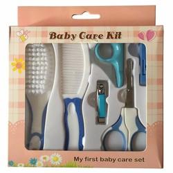 Bộ dụng cụ chăm sóc móng tay cho bé Baby Care Kit màu Xanh