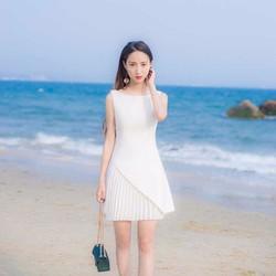 Đầm dập ly thời trang