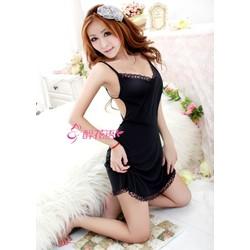 Váy ngủ body hở lưng sexy DN375