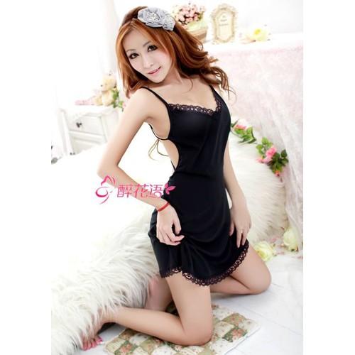Váy ngủ body hở lưng sexy DN375 - 10610468 , 9552410 , 15_9552410 , 140000 , Vay-ngu-body-ho-lung-sexy-DN375-15_9552410 , sendo.vn , Váy ngủ body hở lưng sexy DN375