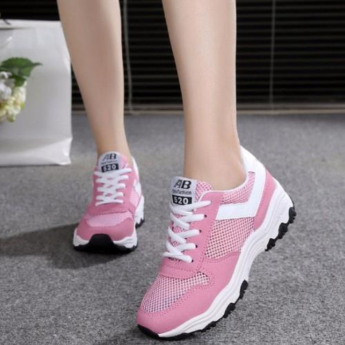 TT059H - Giày sneaker nữ mới nhất  phong cách Hàn Quốc