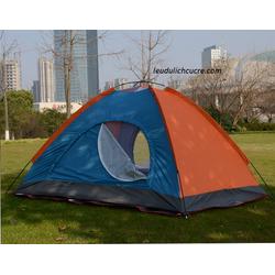 lều bung khung thép 4 người an toàn, bền đẹp dùng