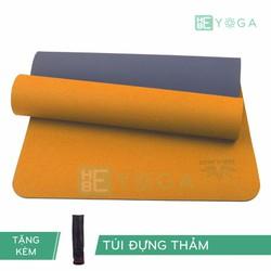 Thảm Tập Yoga TPE Zera Mat 1 lớp 8mm màu cam + Kèm túi