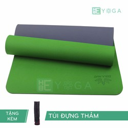 Thảm Tập Yoga TPE Zera Mat 1 lớp 8mm màu Xanh lá + Kèm túi