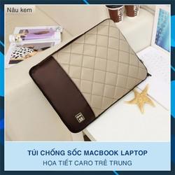 Túi chống sốc Macbook Laptop Caro 2018