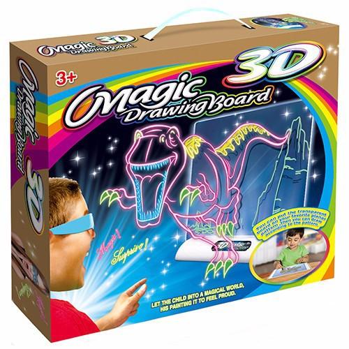 Bộ tranh vẽ 3d ma thuật kèm bút màu magic 3D Drawing Board - 4447908 , 10045290 , 15_10045290 , 159000 , Bo-tranh-ve-3d-ma-thuat-kem-but-mau-magic-3D-Drawing-Board-15_10045290 , sendo.vn , Bộ tranh vẽ 3d ma thuật kèm bút màu magic 3D Drawing Board