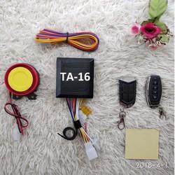 Khóa chống trộm xe máy 4 nút – remote chống nước TA-16