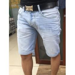 Quần sọt jeans Nam-đẹp-màu sáng