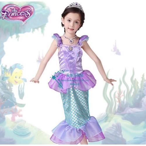 30- Đầm công chúa nàng tiên cá Ariel