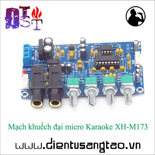 Mạch khuếch đại micro Karaoke XH-M173 - 10604954 , 9208927 , 15_9208927 , 102000 , Mach-khuech-dai-micro-Karaoke-XH-M173-15_9208927 , sendo.vn , Mạch khuếch đại micro Karaoke XH-M173