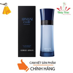 Nước Hoa Nữ GIORGIO ARMANI CODE Colonia Pour Homme 5ml