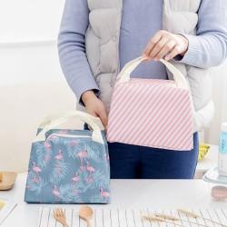 Túi giữ nhiệt họa tiết hạc xanh