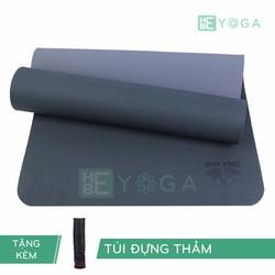 Thảm Tập Yoga TPE Zera Mat 2 lớp 8mm màu xanh rêu + Kèm túi