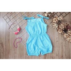 Set short jumsuit 2 dây xinh xắn cho bé gái