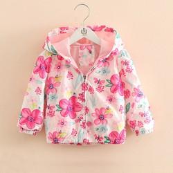 Áo khoác chống nắng mùa hè bé gái, áo khoác trẻ em