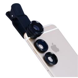 Ống Kính Chụp Hình Cho Điện Thoại 3 IN 1 Apexel