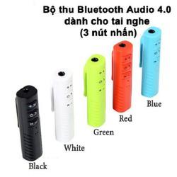 Bộ thu Bluetooth Audio 4.0 dành cho tai nghe Màu đen