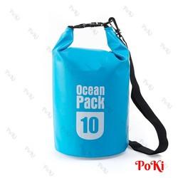Túi chống nước tuyệt đối đựng đồ đi biển, dã ngoại 10L - POKI