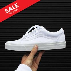 Giày vans trắng