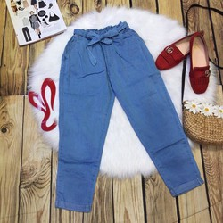 quần baggy giả jeans
