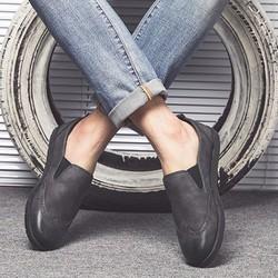 giày lười da nam, giày mọi nam