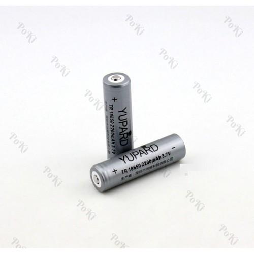 Pin 18650 sạc được nhiều lần 1 VIÊN, 2200mAh, 3.7V, đồ bền cao  - POKI