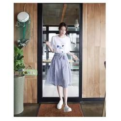 Set áo phông váy xòe hàng Quảng Châu